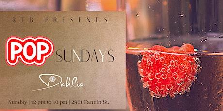 POP Sundays at Dahlia :: Brunch by Chef Reginald Scott tickets