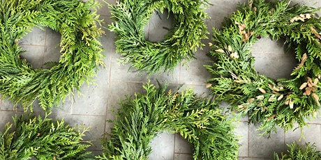 HOLIDAY WREATH WORKSHOP - Zoom Hands-On Creative Crafting , 10 AM tickets