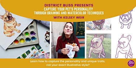 Capture Your Pet's Personality through Drawing and Watercolor Techniques tickets