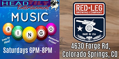 **Postponed until further notice**  Music Bingo at Red Leg Brewing Company tickets