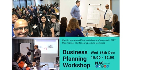 NAC - Business Strategy Workshop for an amazing 2021 tickets