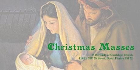 12:00 AM - Misa de Noche Buena / Midnight Mass tickets
