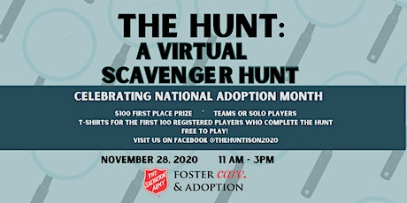 The Hunt Is On!  Virtual Scavenger Hunt tickets