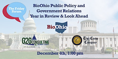 BioOhio Public Policy and Government Relations Year in Review & Look Ahead tickets