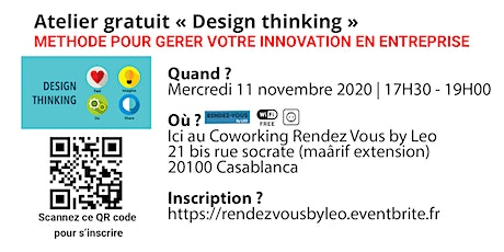 Atelier Gratuit Design Thinking tickets