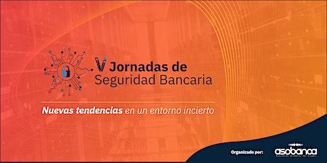 V Jornadas de Seguridad Bancaria entradas