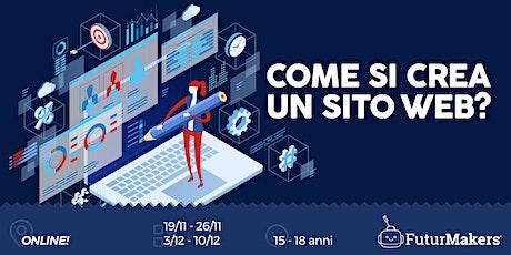 COME SI CREA UN SITO WEB?    (15-18 ANNI)