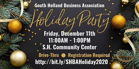 SHBA's Holiday Party Drive-Thru tickets