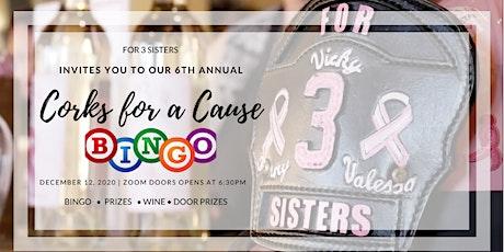 6th Annual Corks for a Cause Virtual Bingo tickets