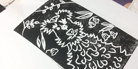 Lino Printing Workshop at Frill & Flounce tickets