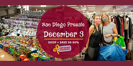 JBF San Diego Presale Fall 2020: DEC 3 tickets