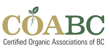 2021 COABC Organic Conference tickets