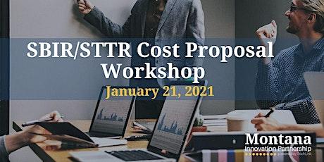 SBIR/STTR Cost Proposal Workshop tickets