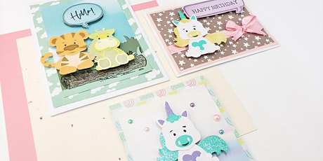 Crafter's Companion Card Making- Pearl City tickets
