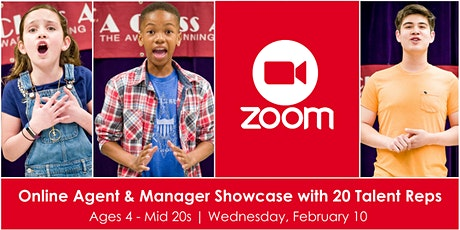 Online Agent & Manager Showcase w/ 20 Talent Reps tickets