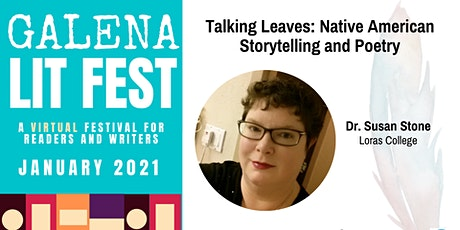 Talking Leaves: Native American Storytelling and Poetry tickets