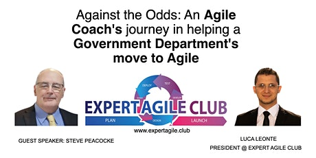 An Agile Coach's journey in helping a Government Department's move to Agile tickets