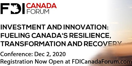 FDI Canada Forum 2020 tickets