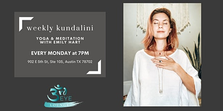 Weekly Kundalini Yoga & Meditation tickets