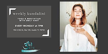 Weekly Kundalini Yoga & Meditation tickets