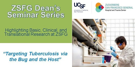 Targeting Tuberculosis via the Bug and the Host tickets