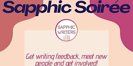 Sapphic Soiree: Sapphic Writers Online Meet-ups tickets