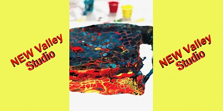 Valley  Paint Pouring Two Canvases tickets