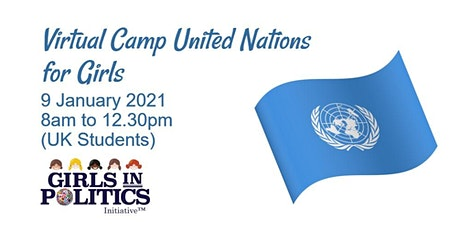 Virtual Camp United Nations for Girls (UK Students) tickets