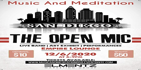 Music And Meditation: The Open Mic tickets
