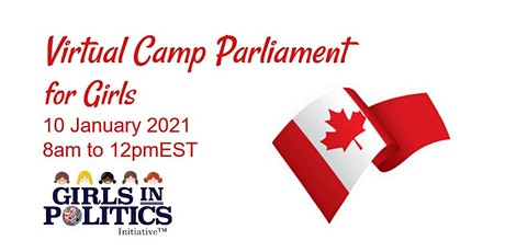 Virtual Camp Parliament for Girls Canada tickets