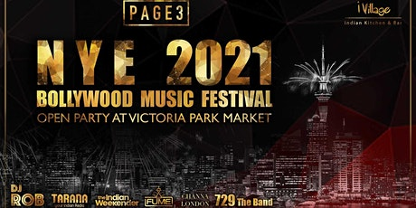 PAGE3 NYE 2021 - Open Air Bollywood Party tickets