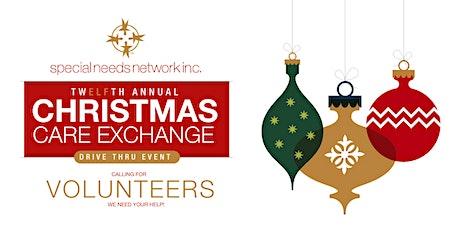 SNN Christmas Care Exchange Drive Thru Event Volunteers 2020 tickets