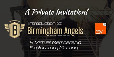 Birmingham Angels – Membership Exploratory Meeting (by Invitation Only!)