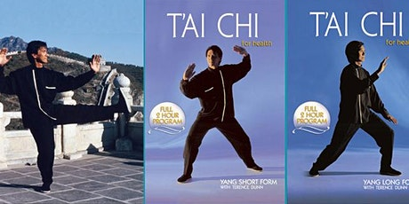TAI CHI FOR HEALTH with Terry Dunn [Online Class] tickets
