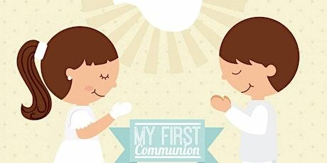 PRIMERAS COMUNIONES 11:30 AM entradas