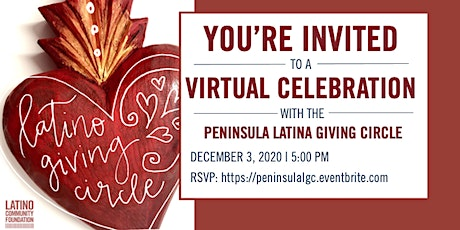 Peninsula Latina Giving Circle | Virtual Celebration tickets