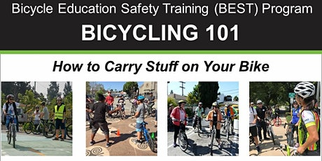 Bicycling 101: How to Carry Stuff on Your Bike - Online Video Class tickets
