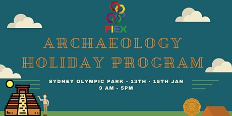 Archaeology Holiday Program tickets
