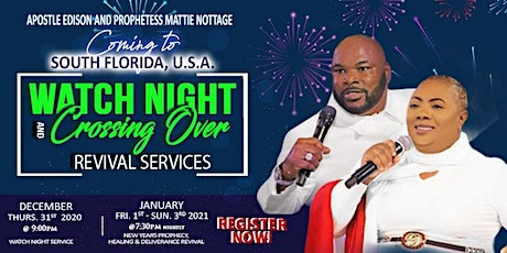 WATCH NIGHT CROSSING OVER &  NEW YEAR'S 3-NIGHT REVIVAL SERVICES tickets