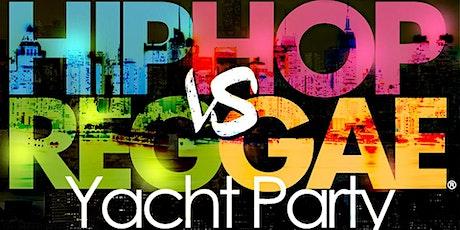 NY Hip Hop vs Reggae® Sunset Cruise at the Skyport Marina Cabana Yacht tickets