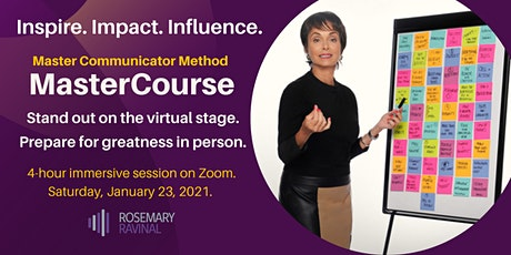 Master Communicator Method MasterCourse tickets