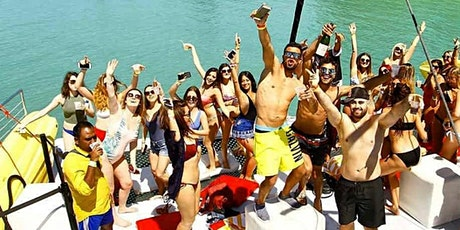 BIGGEST MIAMI PARTY BOAT ALL INCLUSIVE EXPERIENCE! tickets