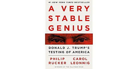 Book Review & Discussion : A Very Stable Genius tickets
