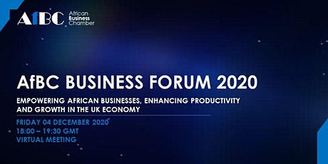 AfBC Business Forum - Empowering African Businesses in the UK tickets