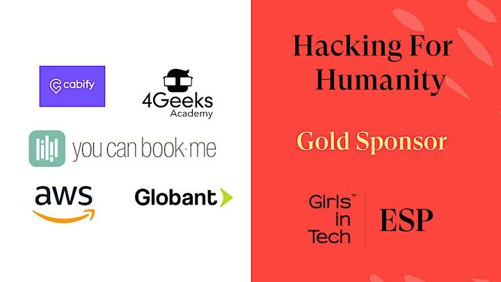 Imagen de Hacking for Humanity - Girls in Tech Spain