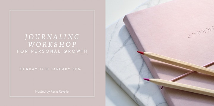 Journaling Workshop for Personal Growth image