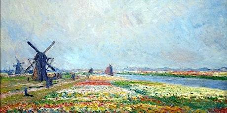 Facebook LIVE Paint Monet 'Tulip Fields' tickets