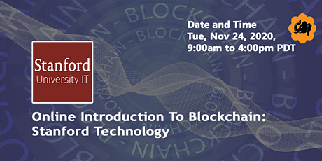 Online Introduction To Blockchain Training tickets