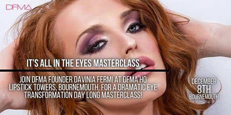 Its all in the eyes - Masterclass and Certification tickets