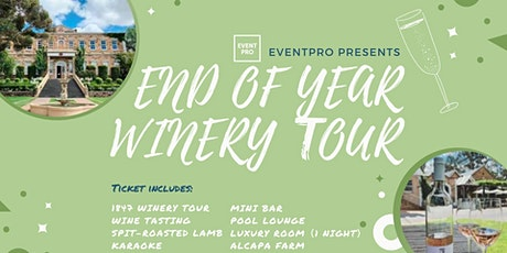 EventPro 1847 Winery Tour tickets